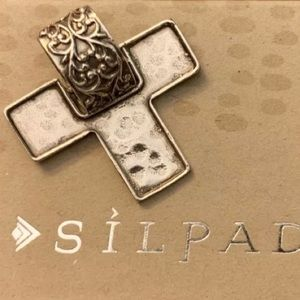 Silpada S1514 Sterling Silver Cross Pendant